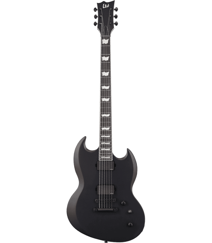 LTD - VIPER400 BARITONE BLACK SATIN