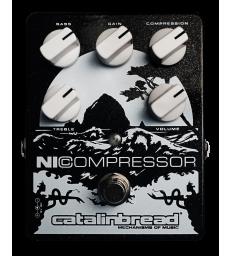 CATALINBREAD - NICOMPRESSOR SILVER ON BLACK