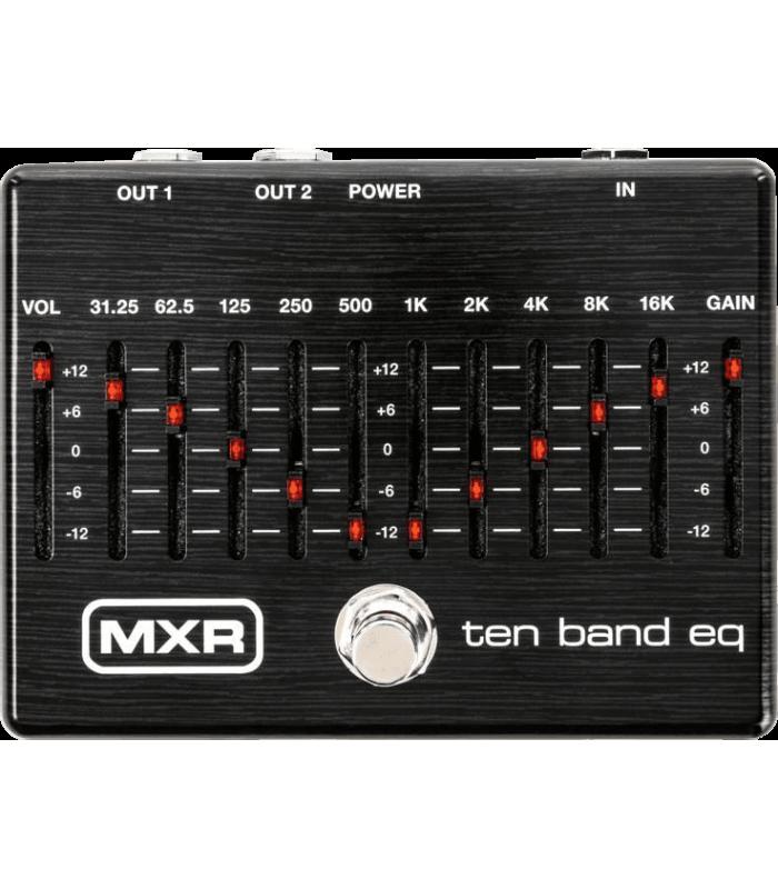 MXR - M108S-BK EQ 10 BANDES LIMITED EDITION BLACK