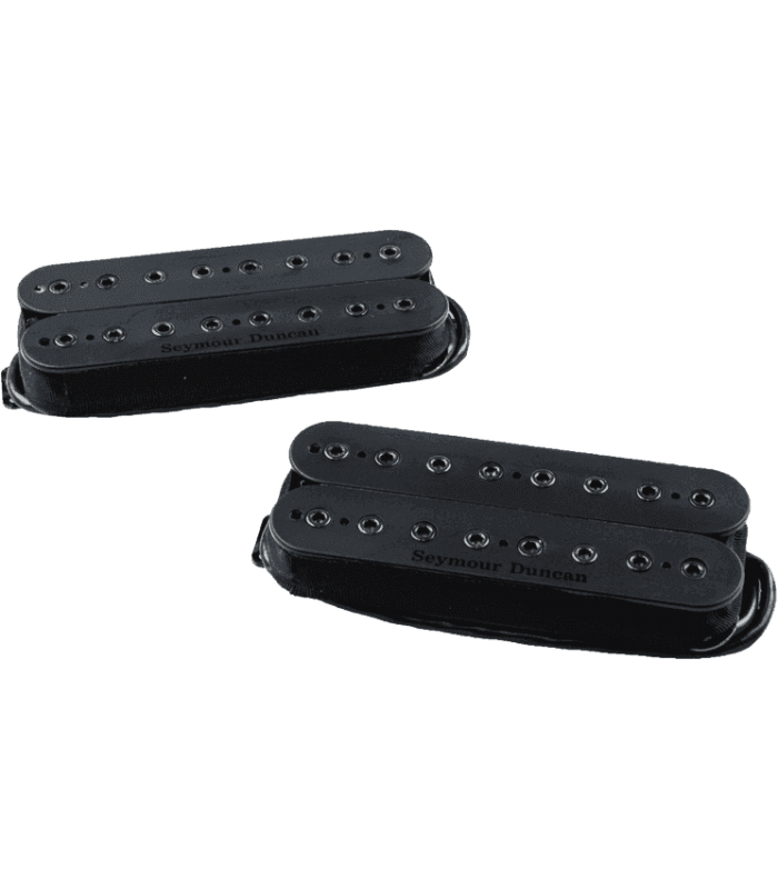 SEYMOUR DUNCAN - MH-ALPHA-OMEGA-SET-8 KIT MARK HOLCOMB, NOIR, 8 CORDES