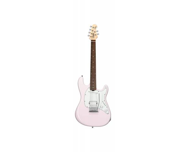 STERLING BY MUSIC MAN - CUTLASS SHORT SCALE HS SHELL PINK