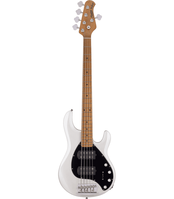 STERLING BY MUSIC MAN - RAY35HH-PWH-M2 STINGRAY5 HH - PEARL WHITE