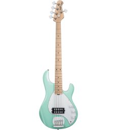 STERLING BY MUSIC MAN - RAY5-MG-M1 STINGRAY MINT GREEN, 5-CORDES