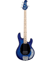STERLING BY MUSIC MAN - RAY34QM-NBL-M1 STINGRAY QUILTED MAPLE NEPTUNE BLUE