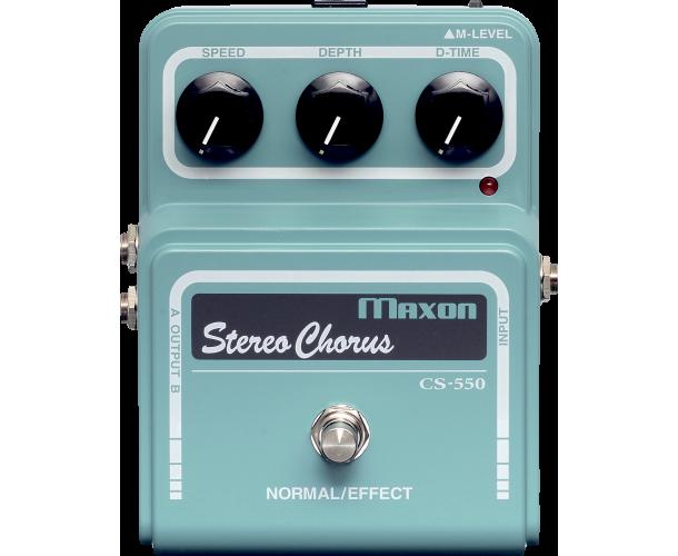 MAXON - CS-550 STEREO CHORUS PRO