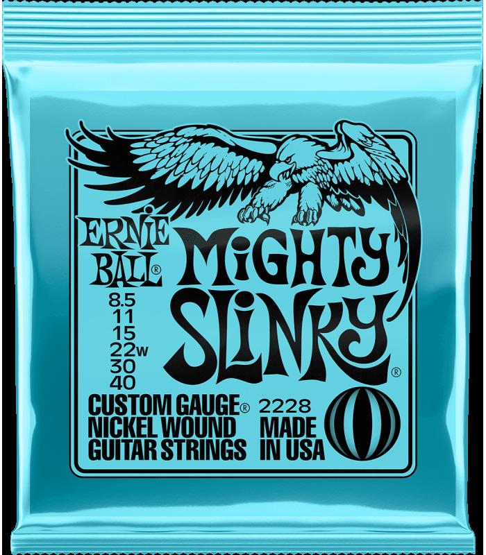 ERNIE BALL - MIGHTY SLINKY 8,5-40