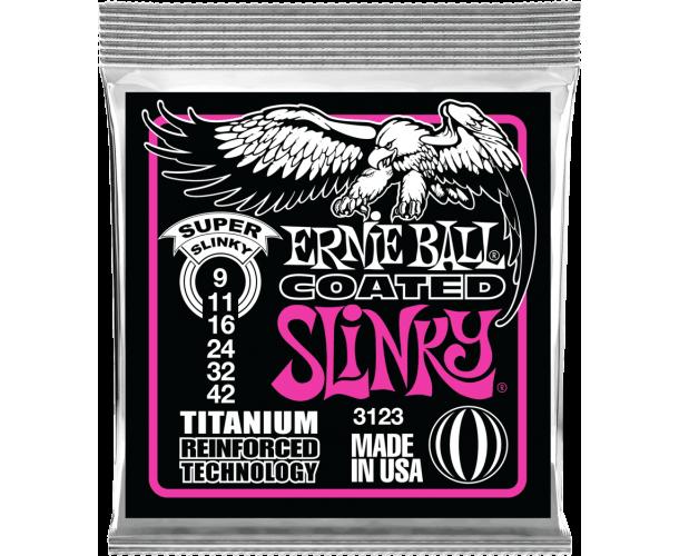 ERNIE BALL - SLINKY RPS COATED TITANIUM 9-42