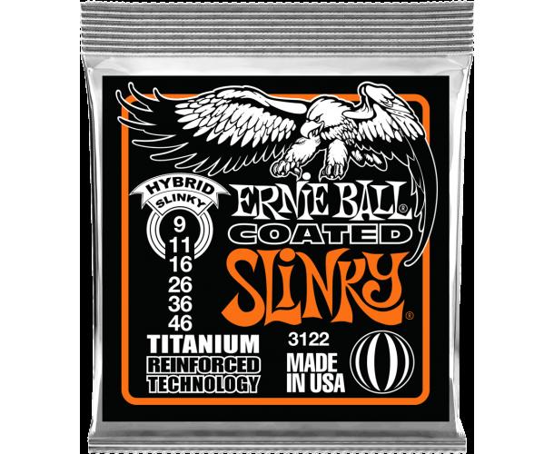 ERNIE BALL - SLINKY RPS COATED TITANIUM 9-46