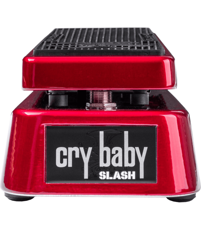DUNLOP - CLASSIC WAH SLASH SIGNATURE EDITION LIMITEE RED METALLIC