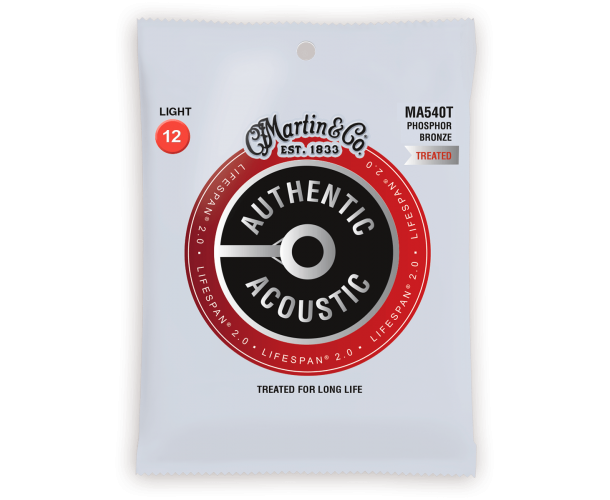 MARTIN - AUTHENTIC TREATED, LIGHT, 92/8