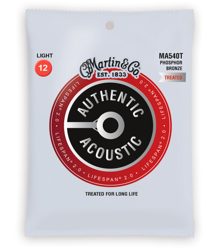 MARTIN - AUTHENTIC TREATED, LIGHT, 92/8