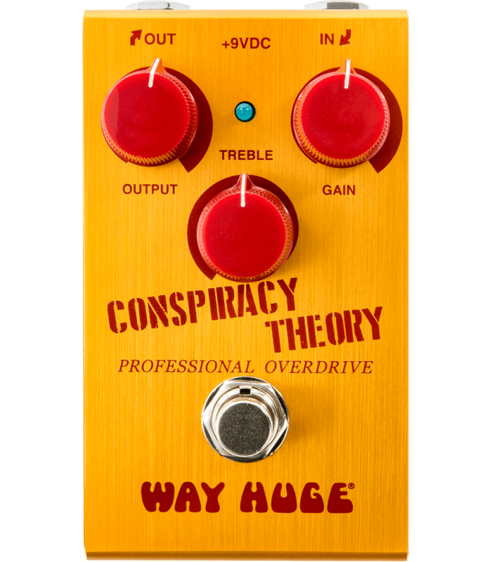 WAY HUGE - CONSPIRACY THEORY OVERDRIVE