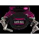 ERNIE BALL - CABLES INSTRUMENT PATCH PACK DE 3 - COUDé FIN & PLAT - 30 CM