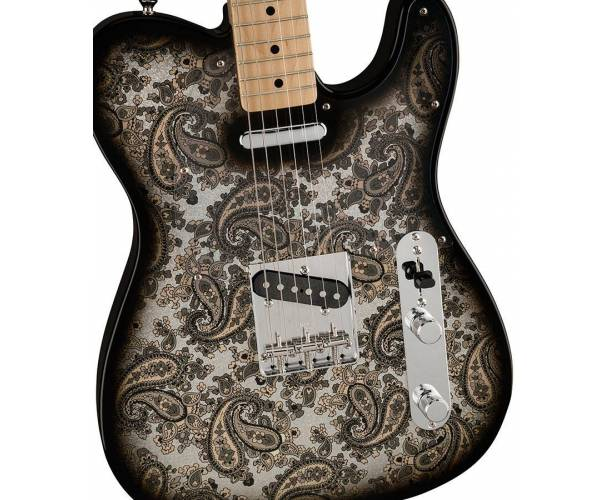 FENDER SPECIAL EDITION MADE IN JAPAN BLACK PAISLEY TELECASTER