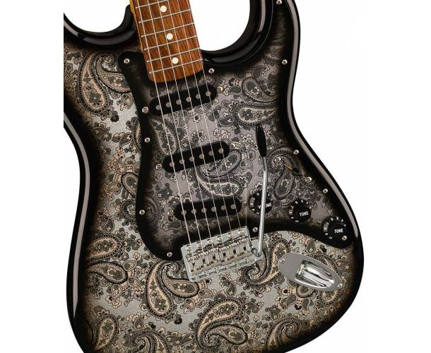 FENDER SPECIAL EDITION MADE IN JAPAN BLACK PAISLEY STRATOCASTER