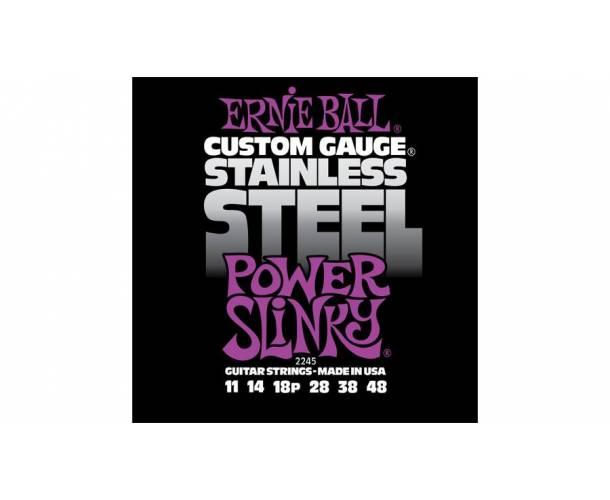 ERNIE BALL - Power Slinky Stainless Steel