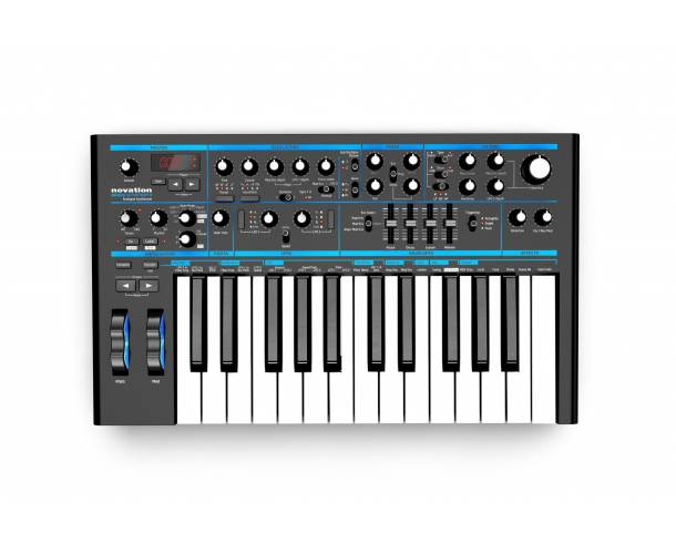 Novation - Bass Station II synthétiseur analogique 25 touches, USB