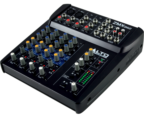 ALTO PROFESSIONAL – ZMX862 MIXEUR COMPACT 6 VOIES