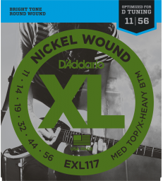 D'ADDARIO – EXL117 CORDES GUITARE ÉLECTRIQUE EXL117