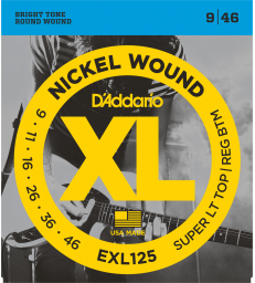 D'ADDARIO – EXL125 CORDES GUITARE ÉLECTRIQUE EXL125