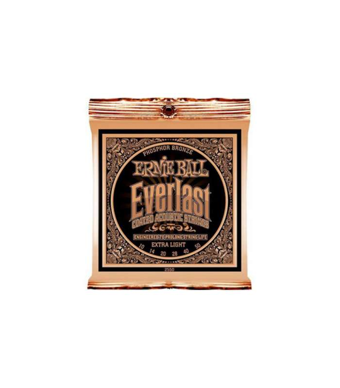Everlast Coated Phosphore Bronze Acoustic Extra Light
