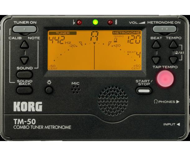 KORG - TM50 BK