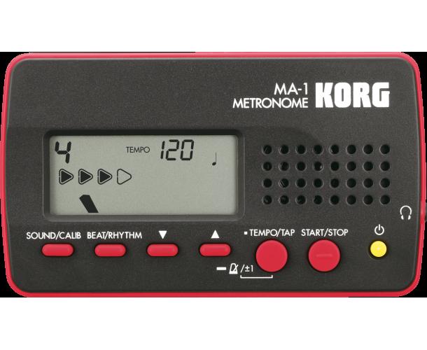 KORG - METRONOME MA-1 ROUGE