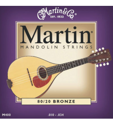 MARTIN - M400 BRONZE LIGHT MANDOLINE 10-34
