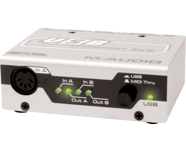 M-AUDIO - INTERFACE MIDI USB 2X2