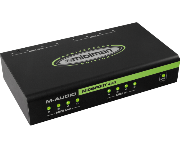 M-AUDIO - INTERFACE MIDI USB 4X4