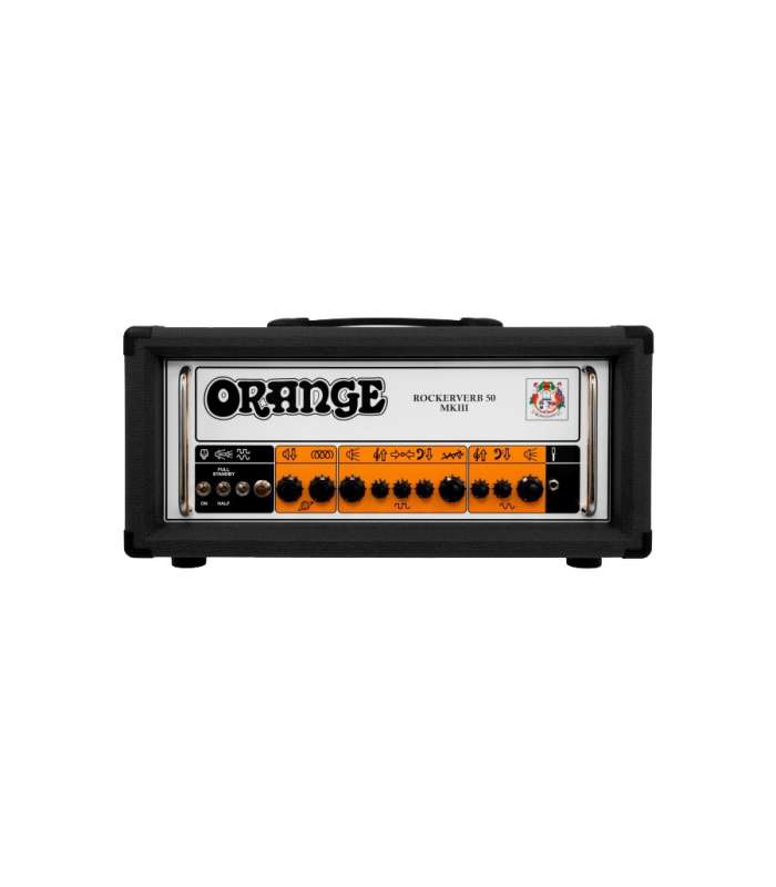 ORANGE - ROCKERVERB 50W, TÊTE GUITARE RK50H MKIII, NOIR