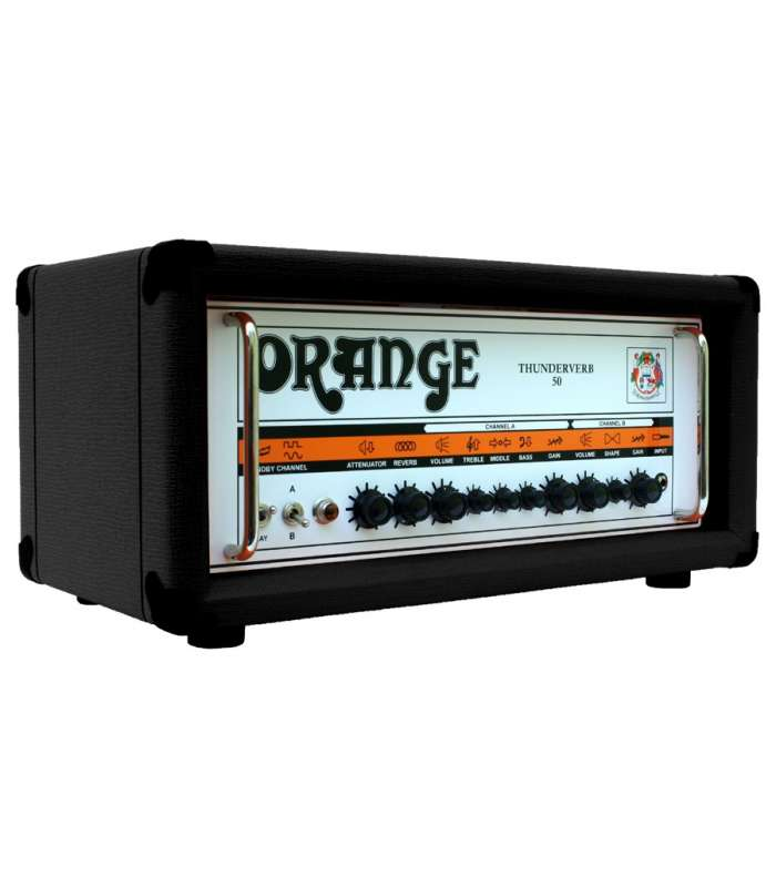 ORANGE - THUNDERVERB 50W, TÊTE TV50H, NOIR