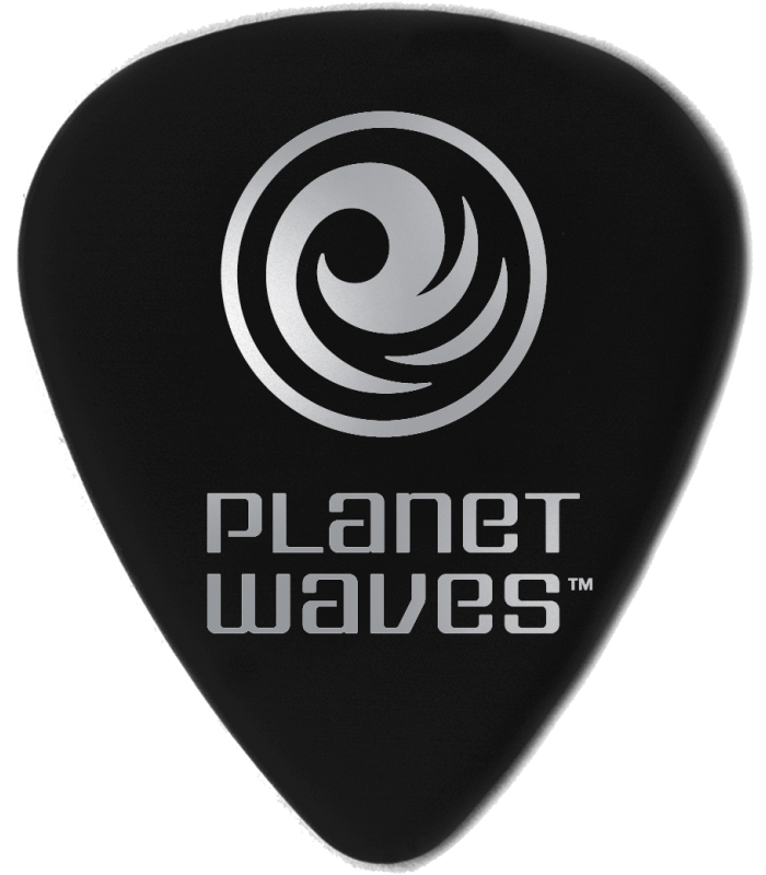 PLANET WAVES - 100 MEDIATORS CELLULOID NOIR ,50MM