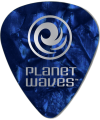 PLANET WAVES - 25 MEDIATORS CELLULOID BLEU NACRE 1MM