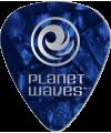 PLANET WAVES - 10 MEDIATORS CELLULOID BLEU NACRE 1,25MM