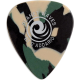 PLANET WAVES - 10 MEDIATORS CELLULOID CAMO ,50MM