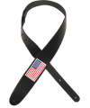 PLANET WAVES - C CUIR USA FLAG