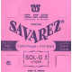 SAVAREZ - 523R SOL-3 ROUGE NYLON RECT