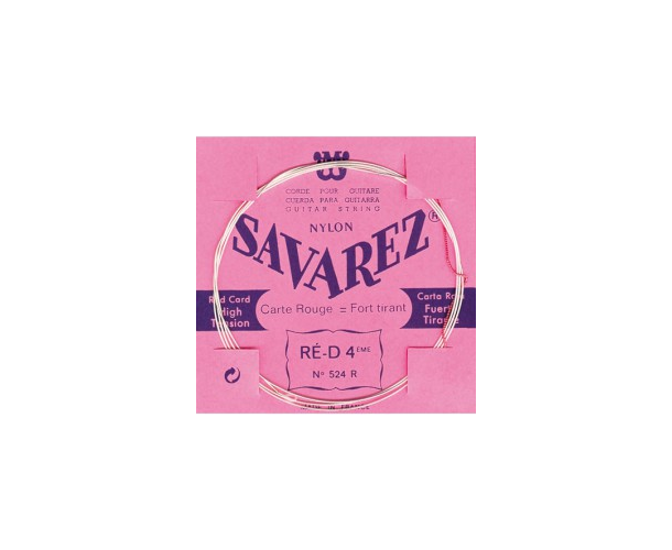 SAVAREZ - 524R RE-4 ROUGE FILEE M/AR