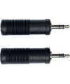 YELLOW CABLE – AD06 ADAPTATEUR JACK STEREO MALE 3.5 / JACK 6.35 STEREO FEMELLE (LA PAIRE)