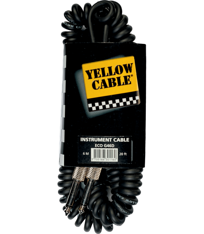 YELLOW CABLE ? G46T CABLE  JACK /JACK TYPE TELEPHONE  LONGUEUR 6M
