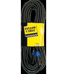 YELLOW CABLE - CABLE HP SPEAKON/SPEAKON 20M