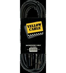 YELLOW CABLE - M03X XLR MALE/XLR FEMELLE