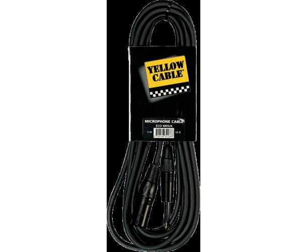 YELLOW CABLE M05JX JACK MALE/XLR MALE 5M