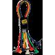YELLOW CABLE – P060C-6 RACCORDS JACK / JACK 60 CM COUDES (PAR 6)