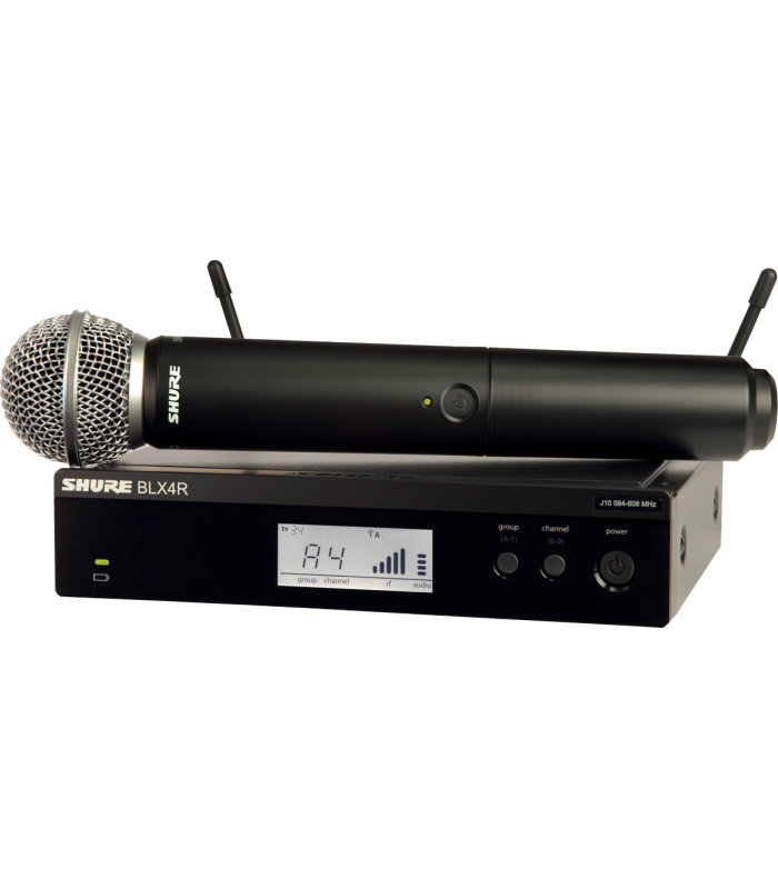 SHURE - BLX24RE ET SM58 RACKABLE