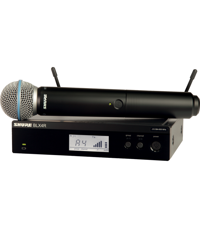 SHURE - SYSTEME RACKABLE BLX24RE ET BETA58