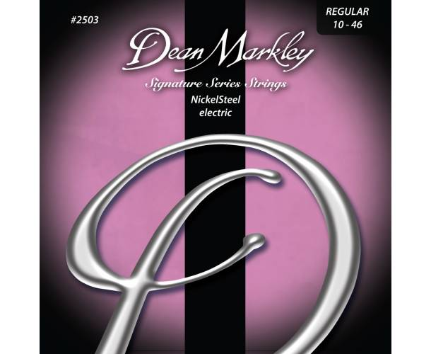 DEAN MARKLEY - 2503 NICKEL STEEL REGULAR 10-46