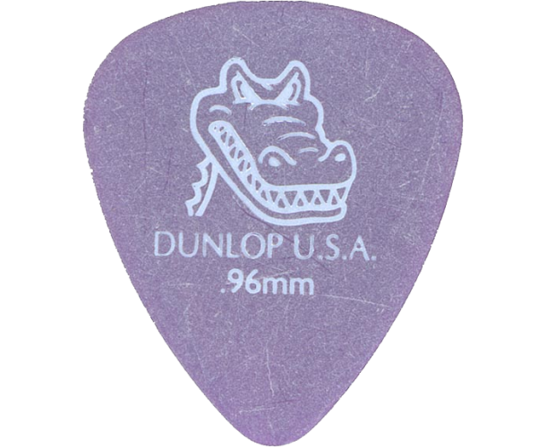 DUNLOP – 417P96 1 SAC.12 MEDIATORS GATORGRIP 0.96MM