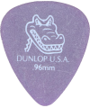 DUNLOP – 417P96 1 SAC.12 MEDIATORS GATORGRIP 0.96MM